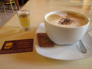 Golden Honey coffee shop in Denpasar