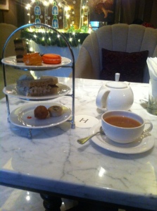 Traditional afternoon tea in Jakarta at the Hermitage Hotel