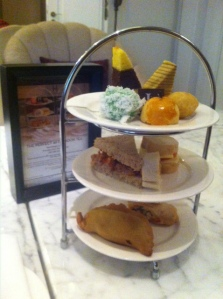 The eastern option for afternoon tea at the Hermitage Hotel in Jakarta