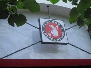 Playboy's coffee house in Denpasar