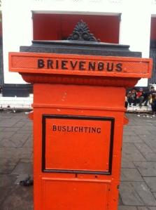 Dutch post box in Jakarta