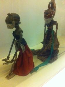 Shadow puppets in Jakarta