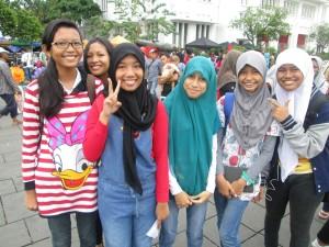 Jakarta English language students