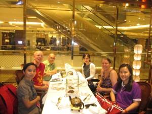 Meeting members of the Indonesian tea community in Jakarta