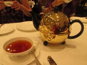 Indonesian tea served at TWG tea room in Jakarta